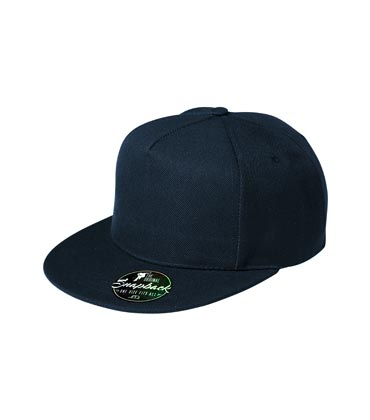 Bawełniana czapka z daszkiem nastawialna ADLER 301 RAP 5P