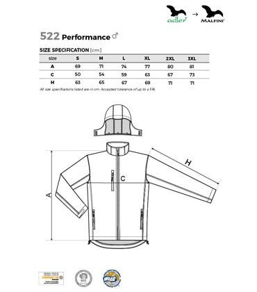 8d6aa3ace215d Oddychająca kurtka męska ADLER 522 Performance softshell
