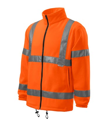 Polar odblaskowy RIMECK 5V1 HV Fleece Jacket